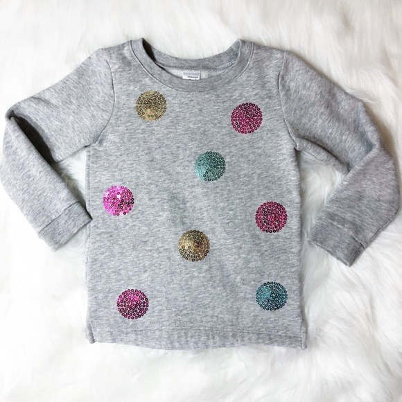 4d91e33a5cc Carter s Other - Carter s Toddler Girls Sweatshirt Sequin Sparkle